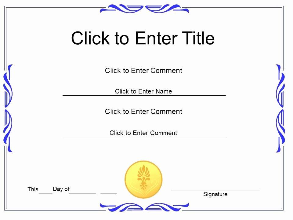 Scholarship Awards Certificates Templates Fresh Award Recognition Diploma Certificate Template Of