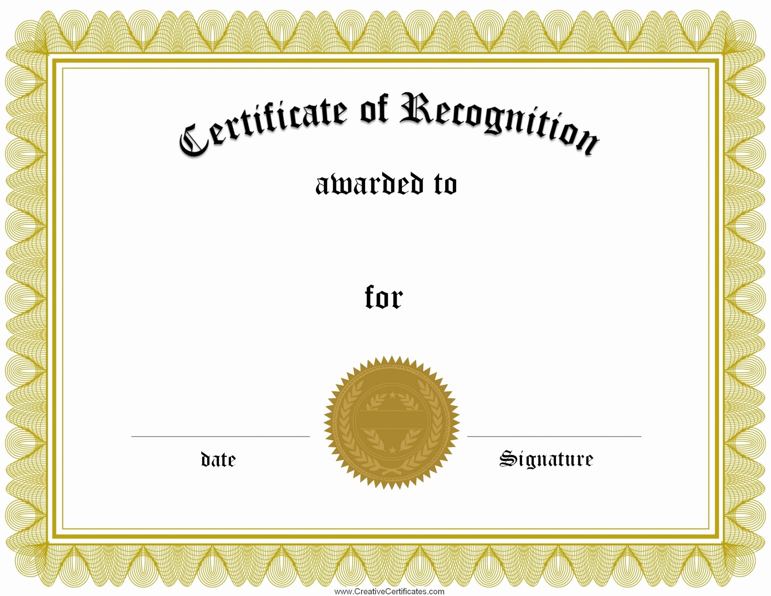 Scholarship Certificate Template Free Beautiful Certificate Printable