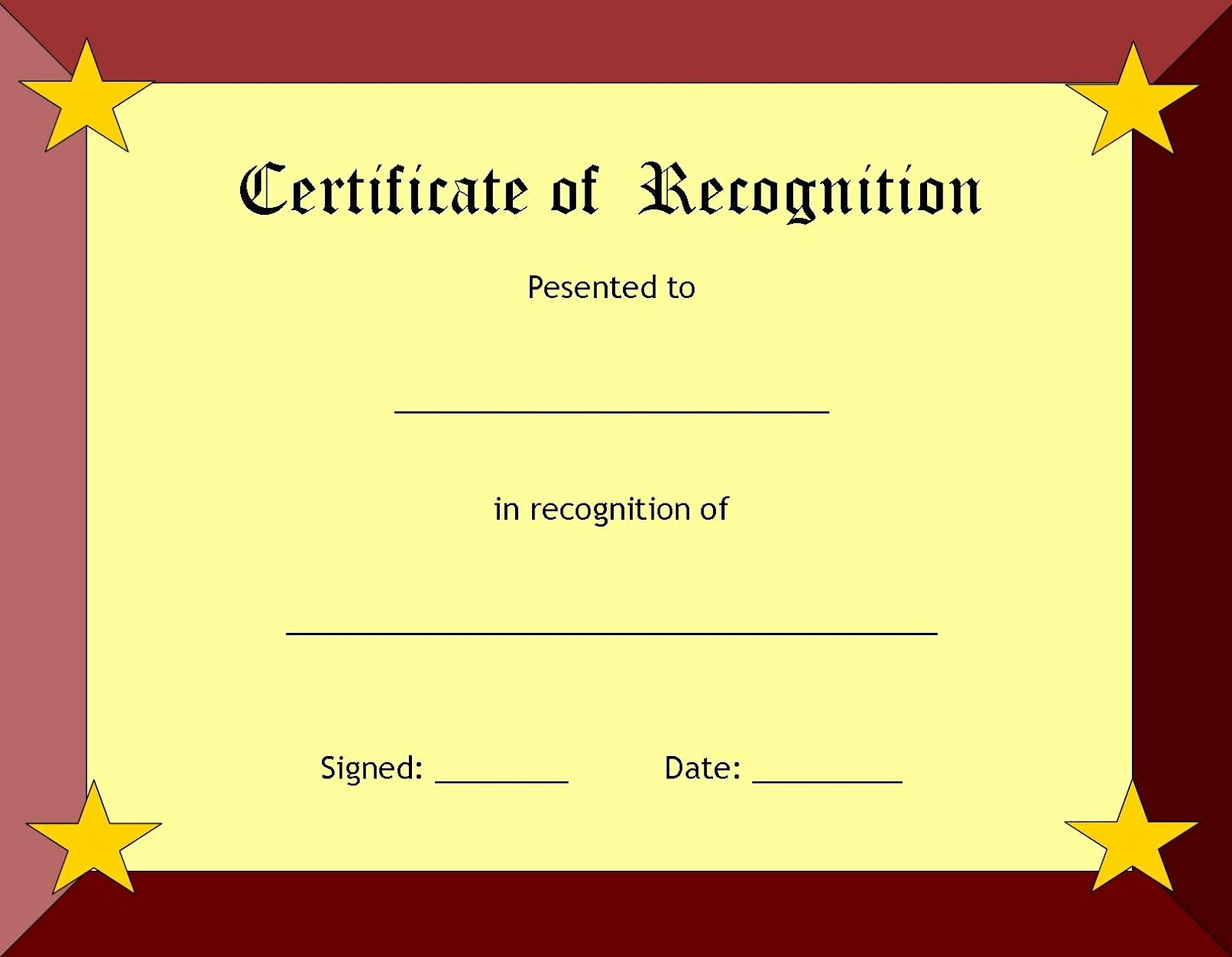 Scholarship Certificate Template Free Lovely A Collection Of Free Certificate Borders and Templates