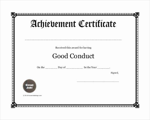 Scholarship Certificates Templates Free Luxury 99 Free Printable Certificate Template Examples In Pdf