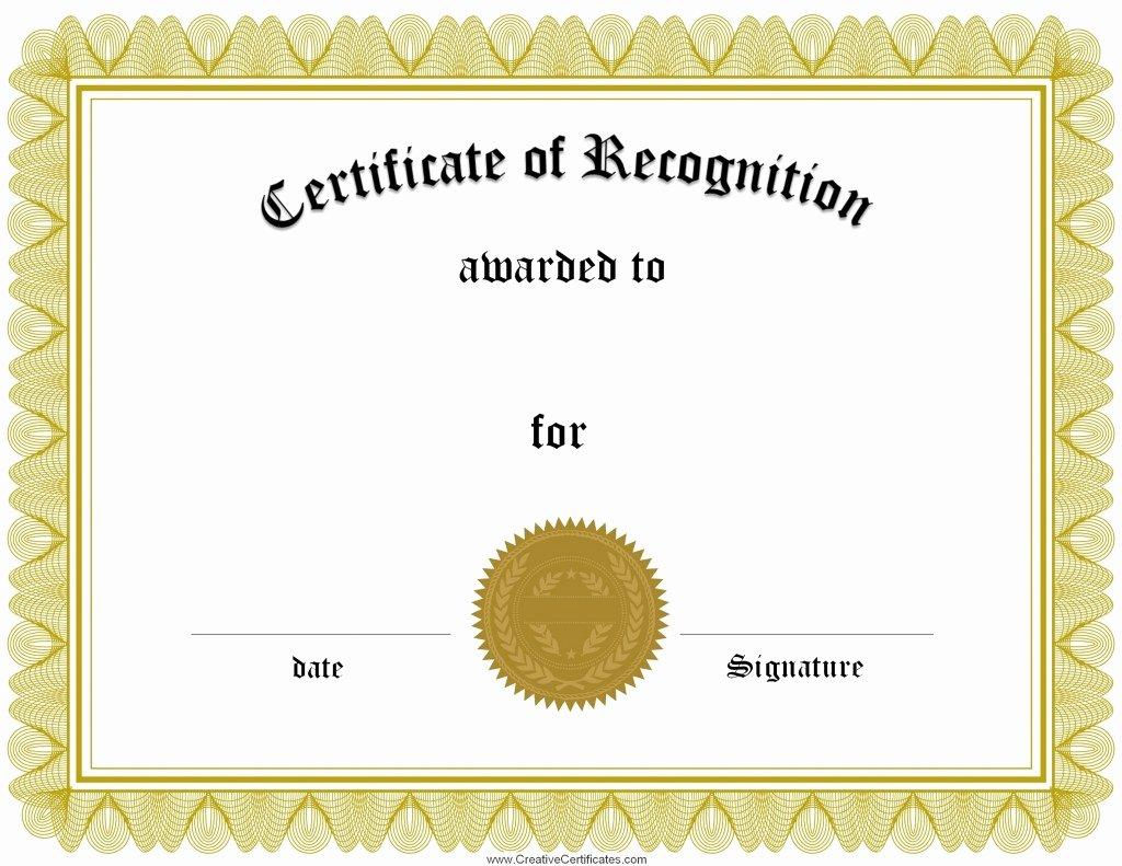 Scholarship Certificates Templates Free Unique Award Certificate Template