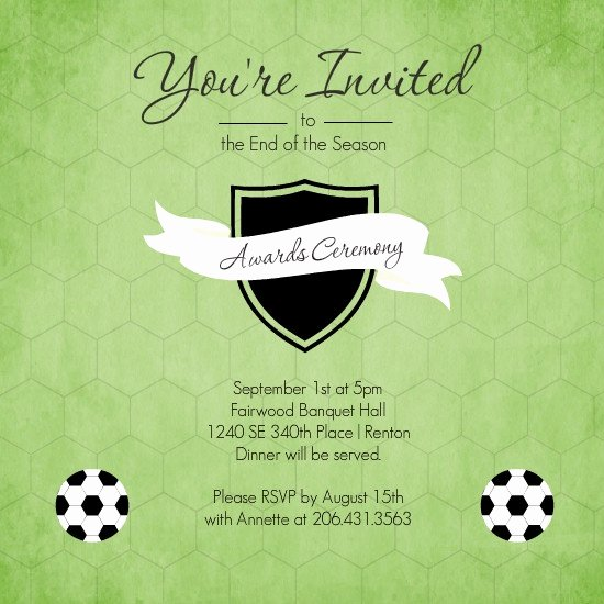 School Award Ceremony Invitation Best Of 17 Best Images About Sports Banquet On Pinterest