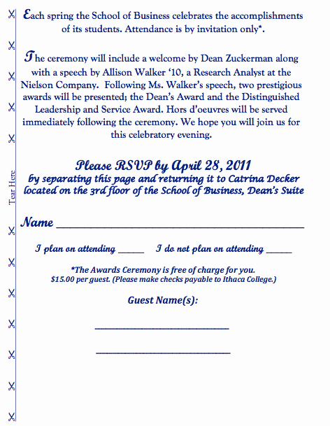 School Award Ceremony Invitation Elegant 15th Annual Student Recognition Award Ceremony Invite On