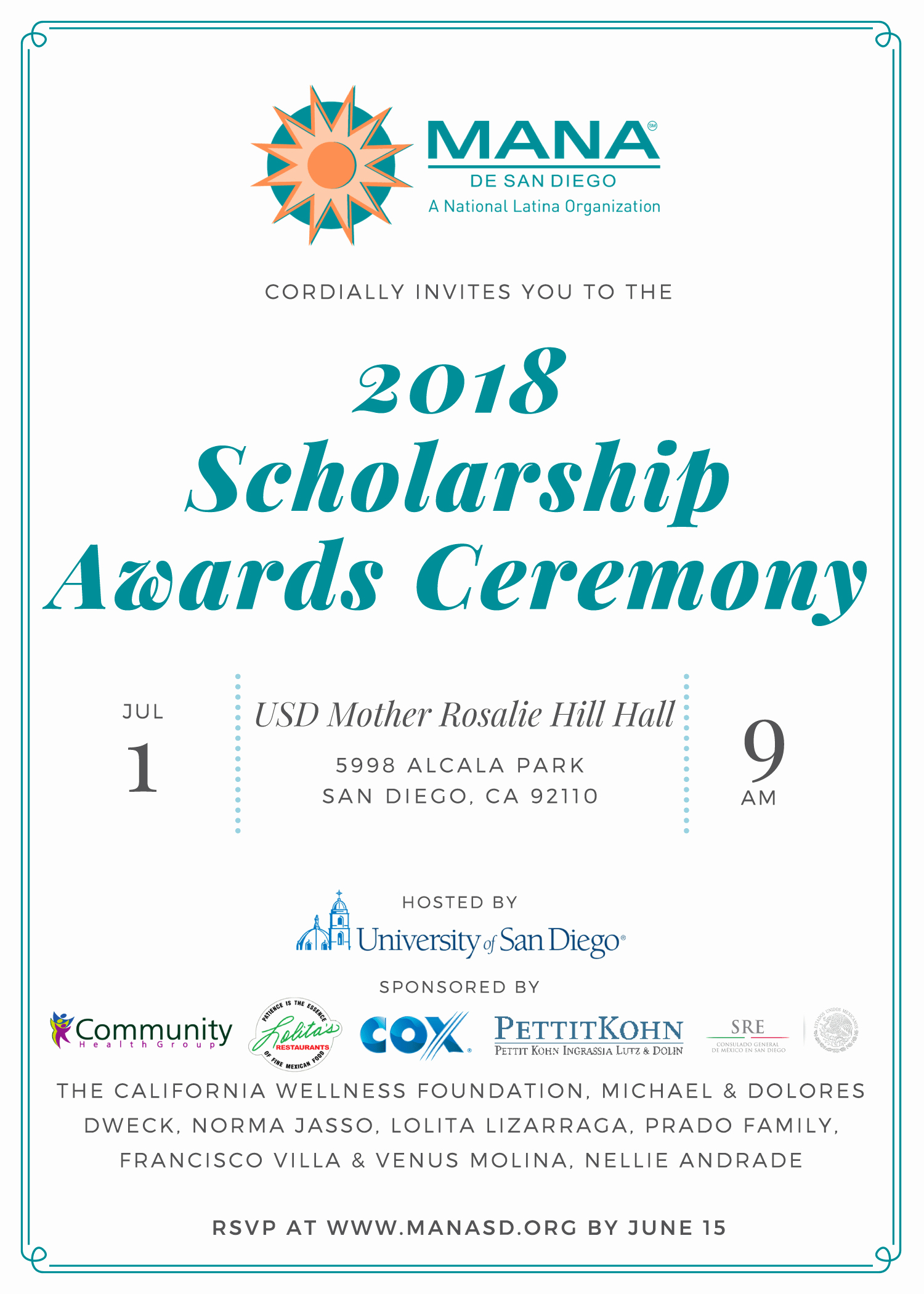 School Award Ceremony Invitation Inspirational 2018 Scholarship Award Ceremony Invite 1