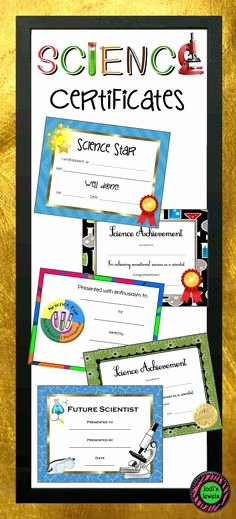 Science Fair Award Certificates Awesome 1000 Ideas About Award Certificates On Pinterest