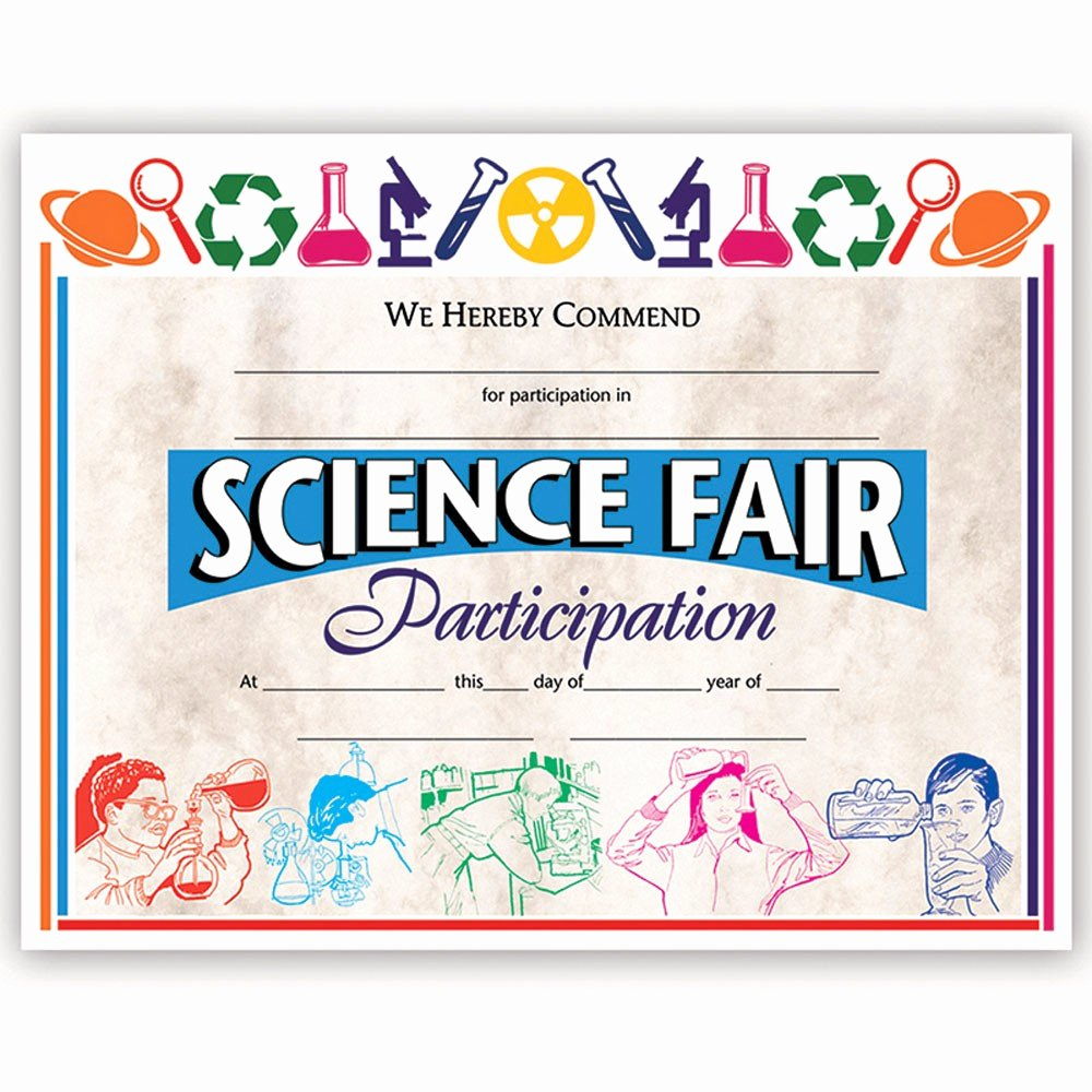 Science Fair Awards Certificates Luxury Certificates Science Fair 30 Pk 8 5 X 11 H Va572