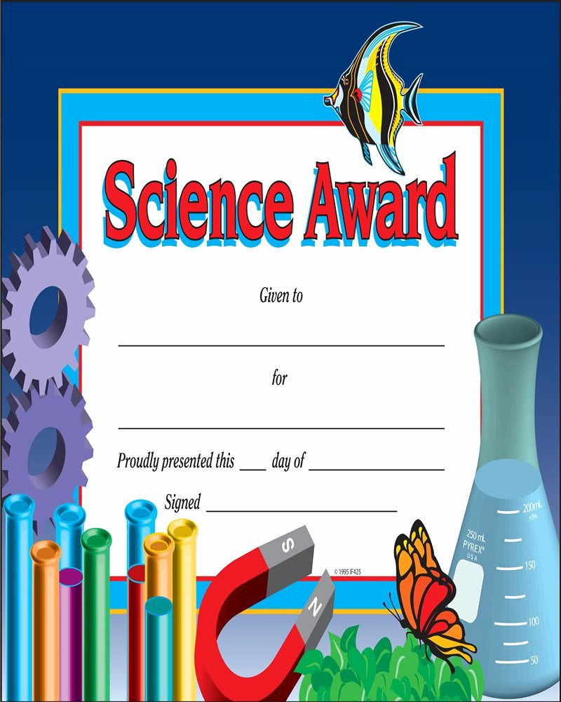 Science Fair Awards Certificates Unique Certificate Templates Certificate Templates Science Fair