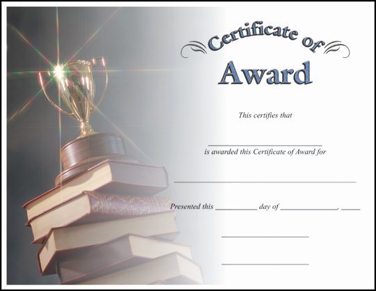 Science Fair Certificate Template Inspirational Certificate Award C7007