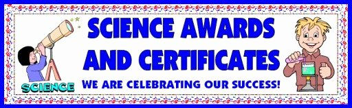 Science Fair Certificate Template Lovely Science Award Certificates