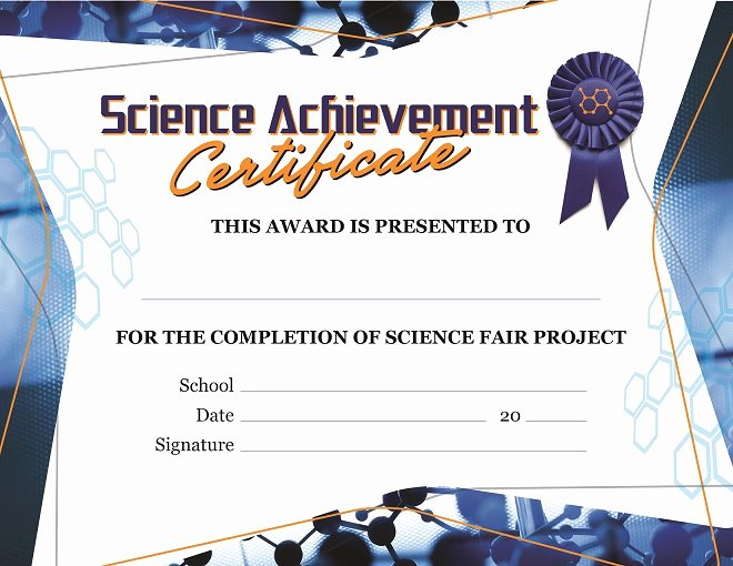 Science Fair Certificates Of Participation Awesome Educational Products Inc 1 800 365 5345