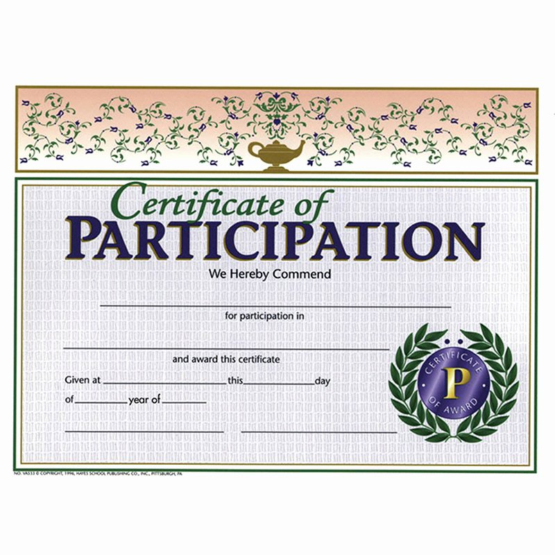 Science Fair Certificates Of Participation Fresh 29 Of Science Fair Participation Award Template