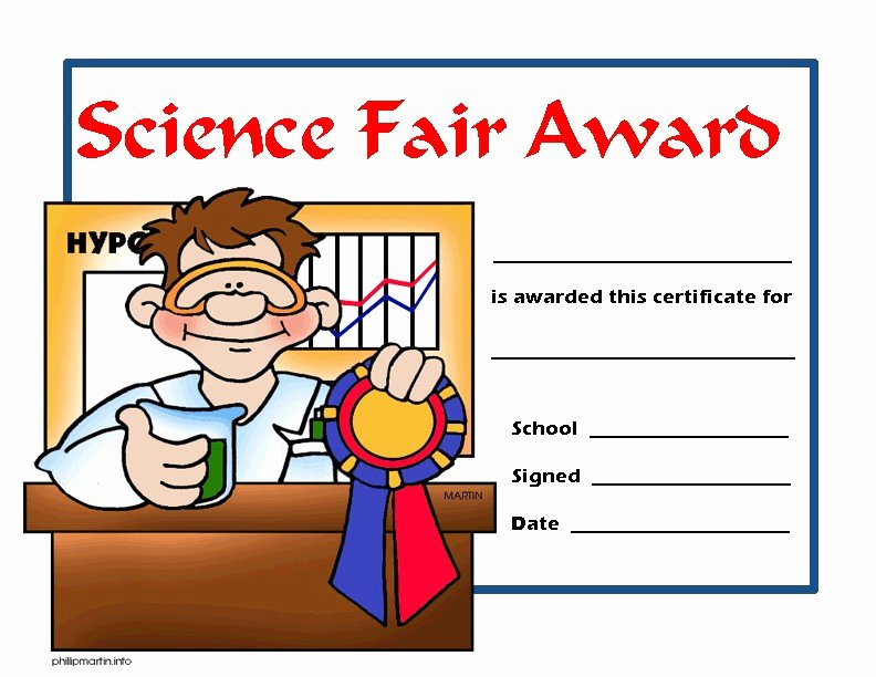 Science Olympiad Certificate Template Fresh Certificate Templates Certificate Templates Science Fair
