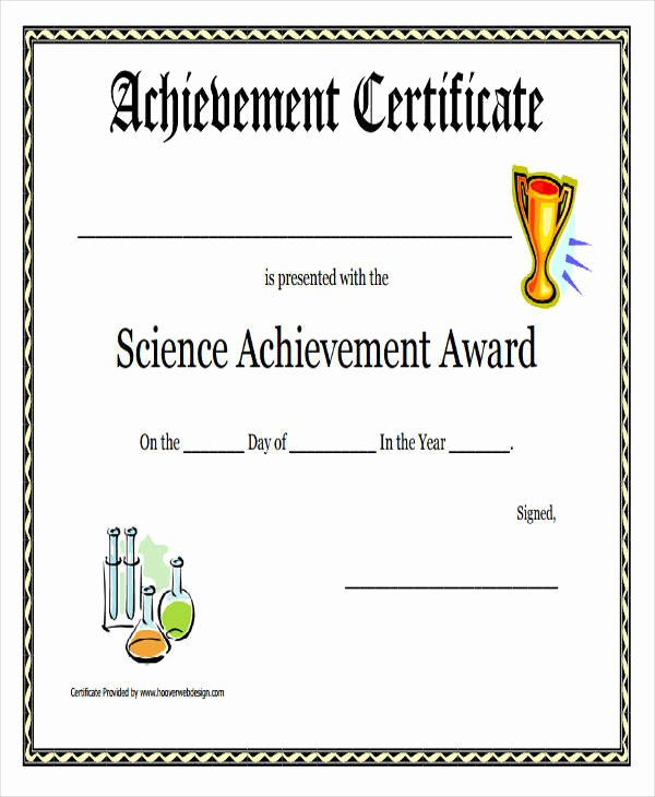 Science Olympiad Certificate Template Luxury 23 Blank Award Certificate