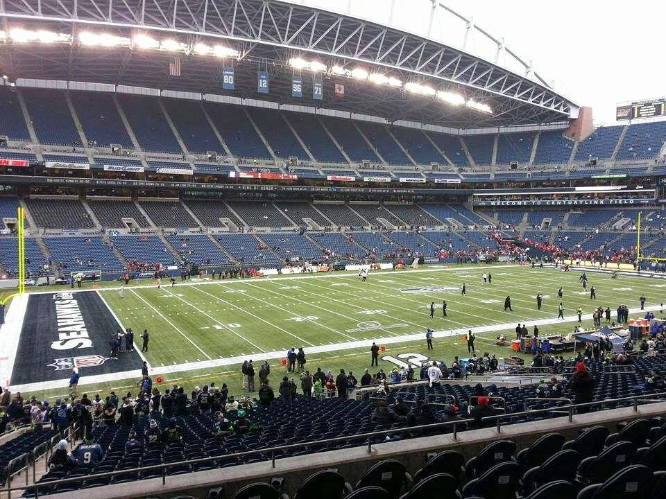 Seahawks Stadium Seat View Awesome Centurylink Field Section 239 Seattle Seahawks