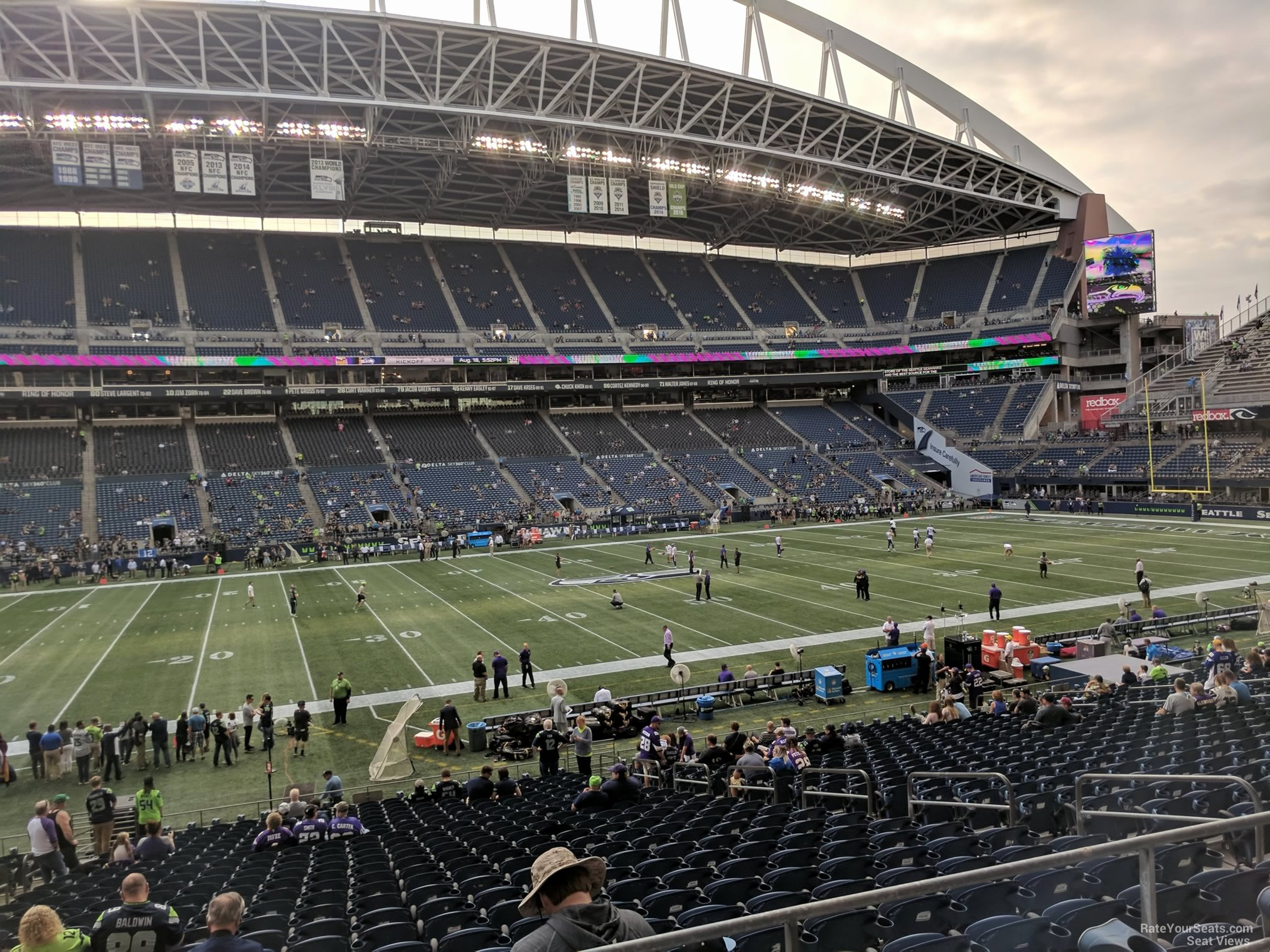 Seahawks Stadium Seat View Beautiful Centurylink Field Section 211 Seattle Seahawks