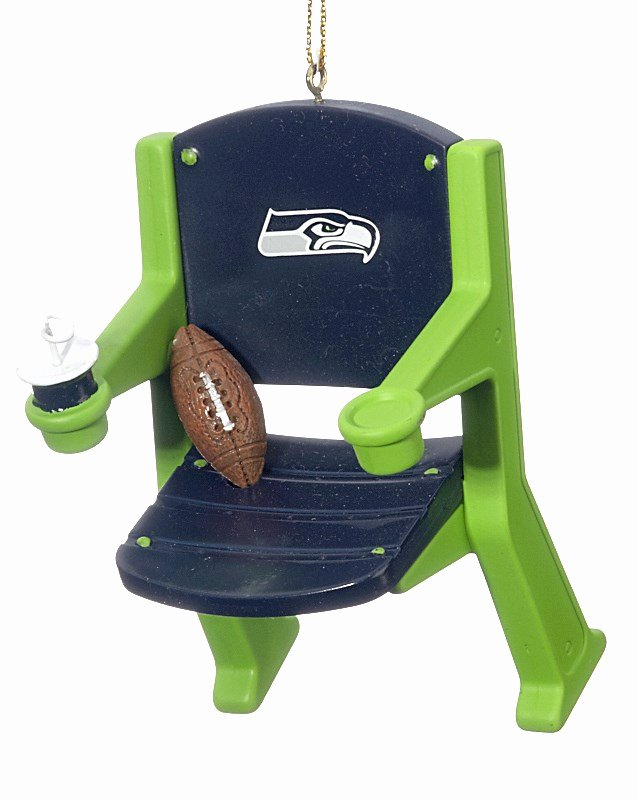 Seahawks Stadium Seat View Beautiful Seattle Seahawks Stadium Seat Christmas ornament