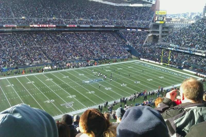 Seahawks Stadium Seat View Elegant Centurylink Field Section 313 Row M Seat 18 Seattle