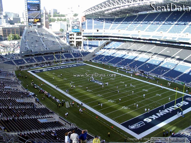 Seahawks Stadium Seat View Elegant Centurylink Field Section 328 Seattle Seahawks
