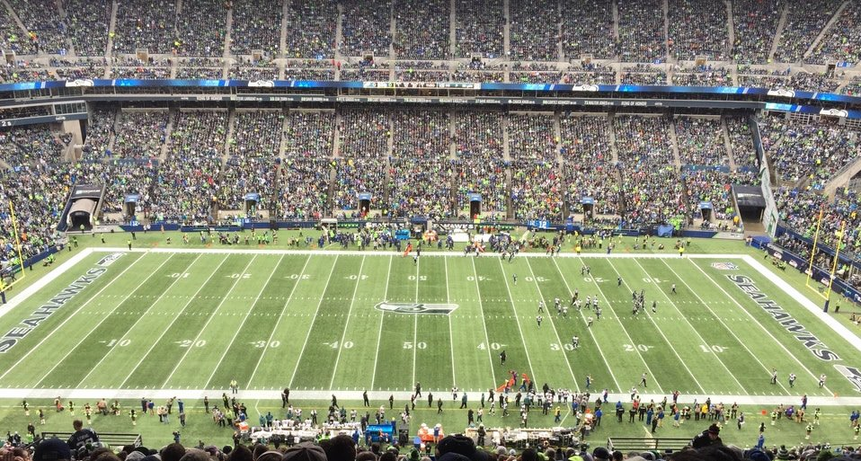 Seahawks Stadium Seat View Fresh Centurylink Field Section 106 Seattle Seahawks