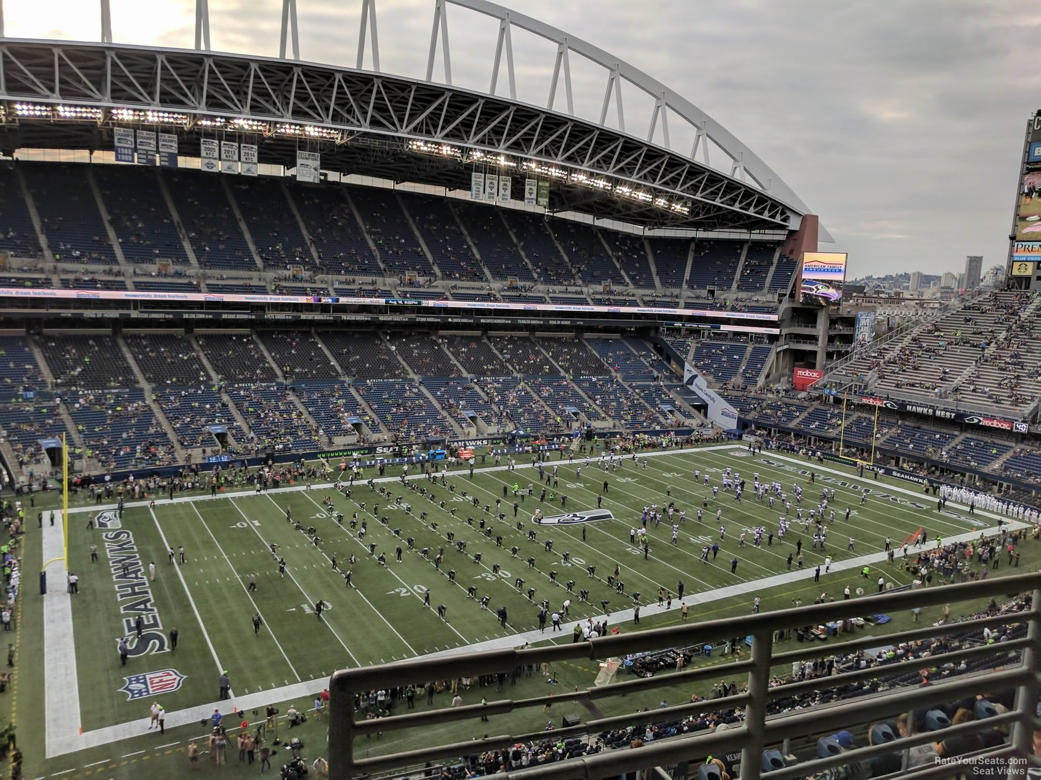 Seahawks Stadium Seat View Fresh Centurylink Field Section 314 Seattle Seahawks
