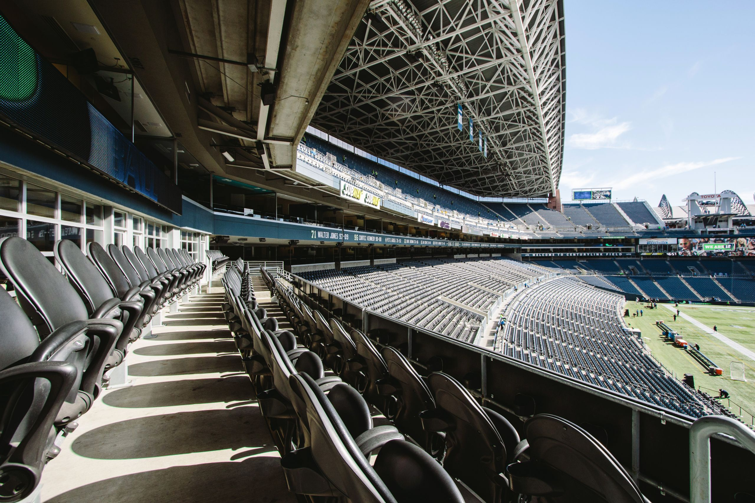 Seahawks Stadium Seat View Inspirational Brotherton Reserve Club