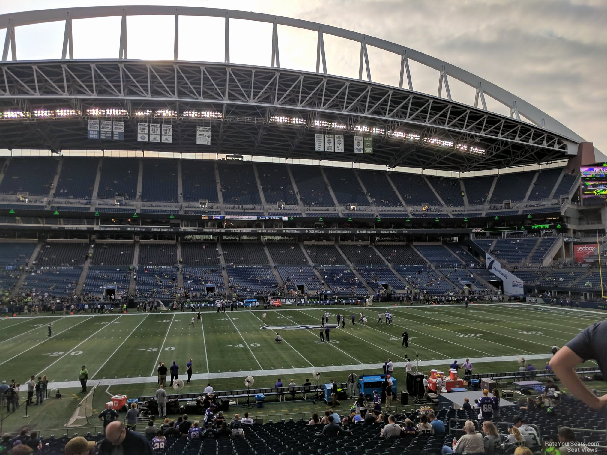 Seahawks Stadium Seat View Inspirational Centurylink Field Section 210 Seattle Seahawks