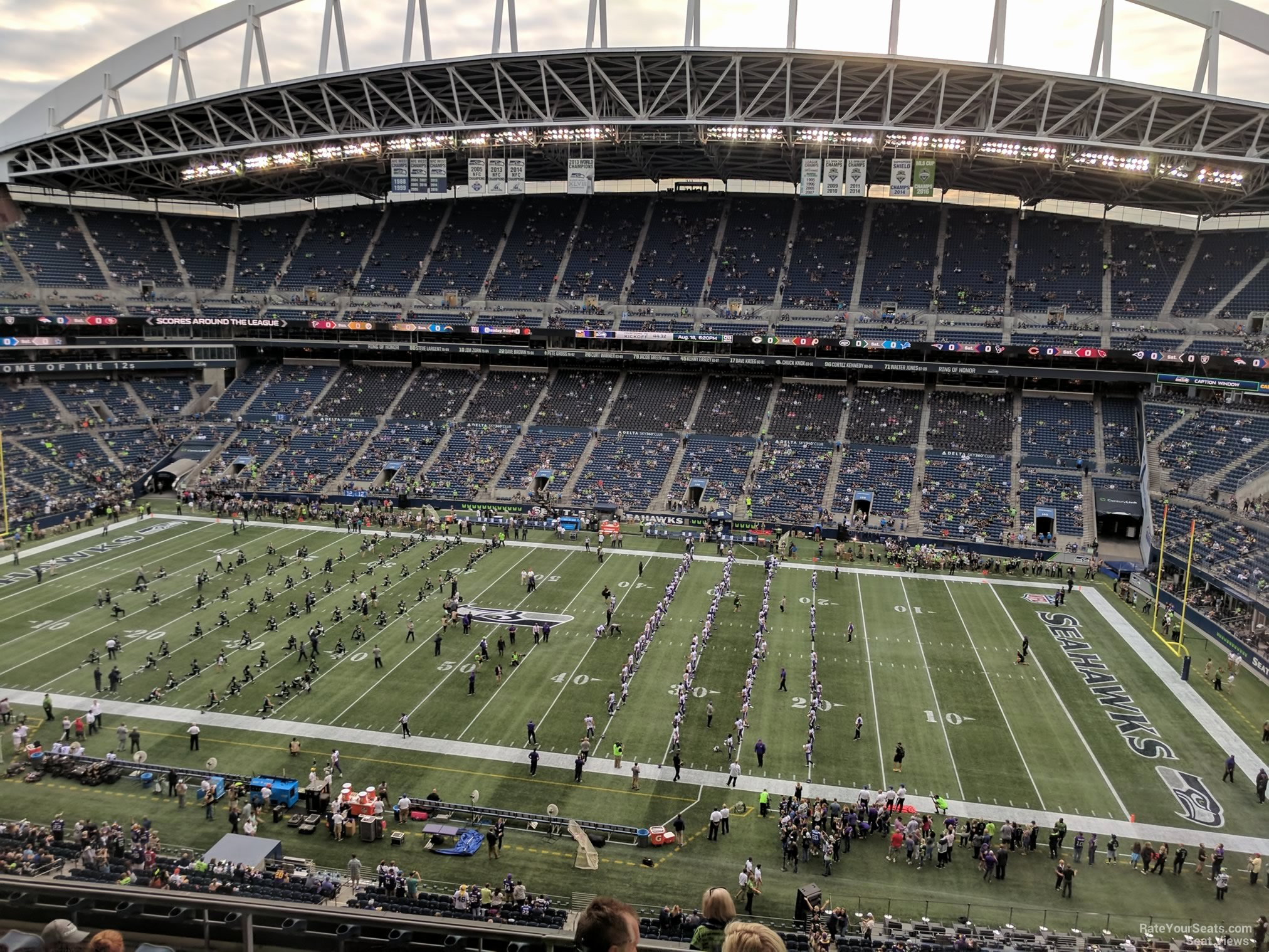 Seahawks Stadium Seat View New Centurylink Field Section 307 Seattle Seahawks