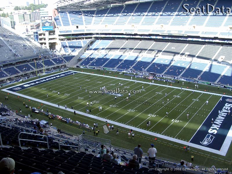Seahawks Stadium Seat View Unique Centurylink Field Section 330 Seattle Seahawks