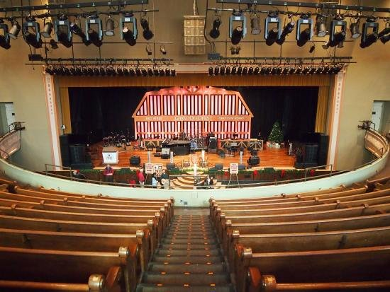 Seating Chart for Ryman Auditorium Awesome Stage and Pew Seating Looking Down From the Back Of the