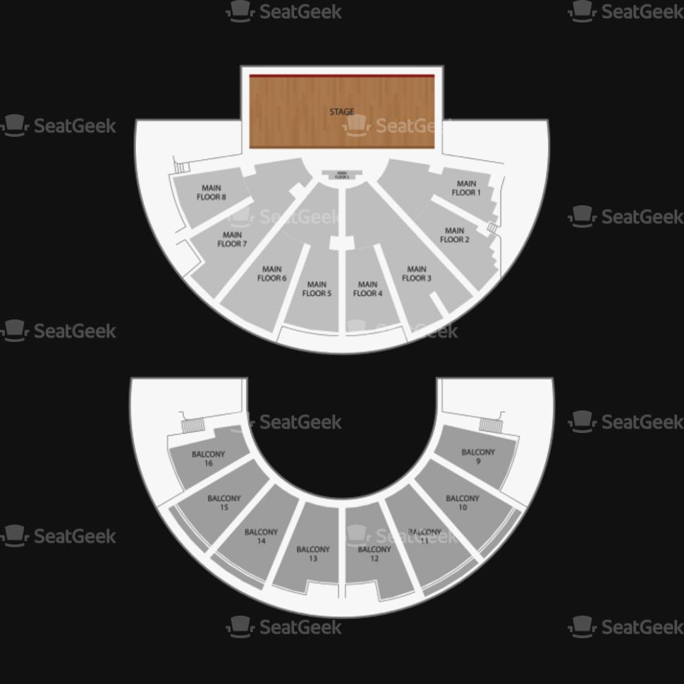 ryman seating chart