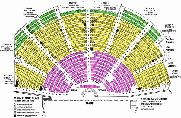 Seating Chart for Ryman Auditorium Inspirational Pin On Elisa S Wish List
