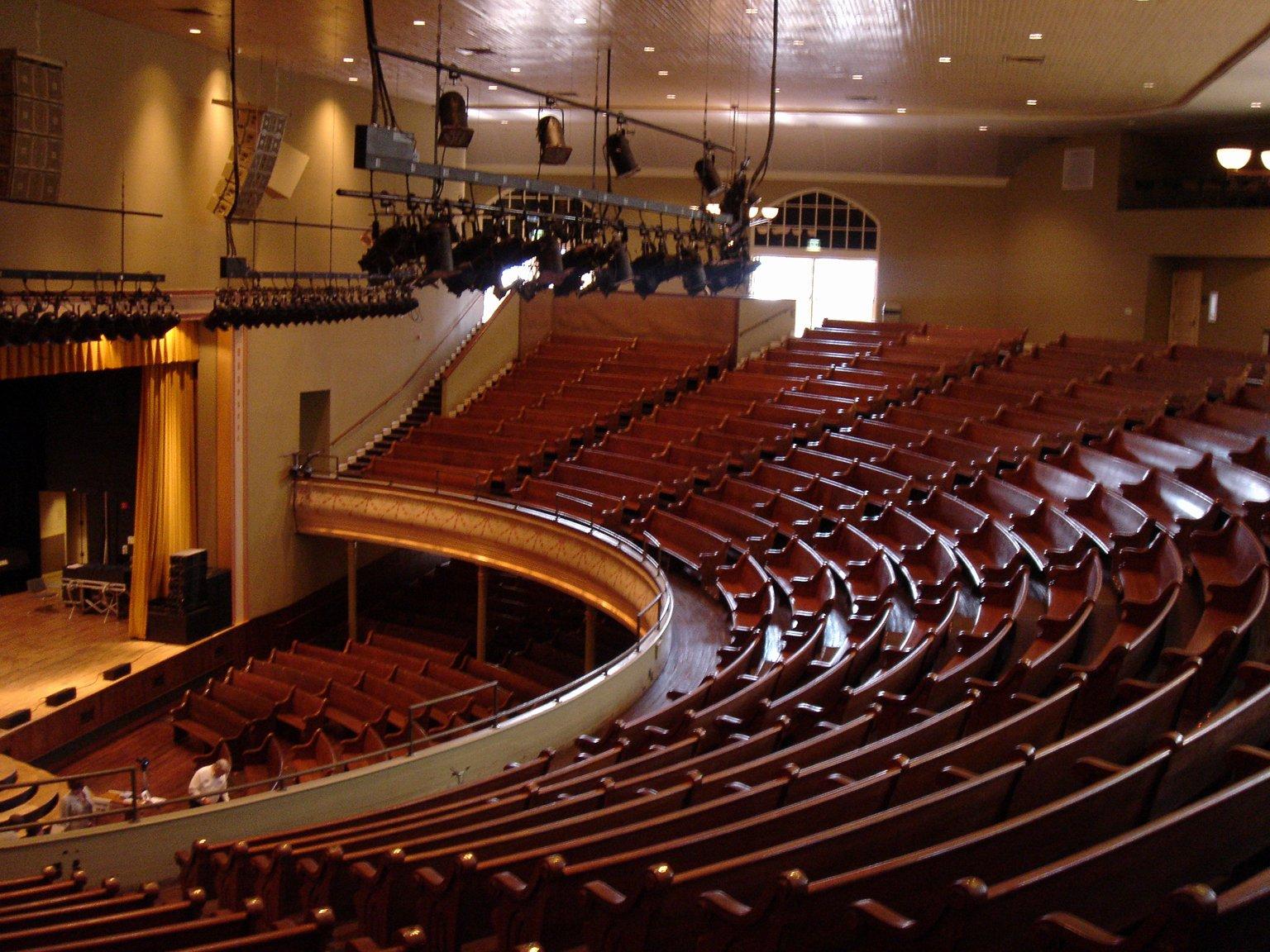 Seating Chart for Ryman Auditorium Luxury Sacred Ground Travel Magazine Smooth Getaway Postcard