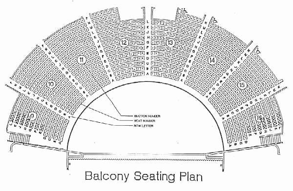Seating Chart for Ryman Auditorium New Ryman Seating Capacity