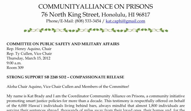 Senate Bill Template Luxury How to Testify – Munity Alliance On Prisons