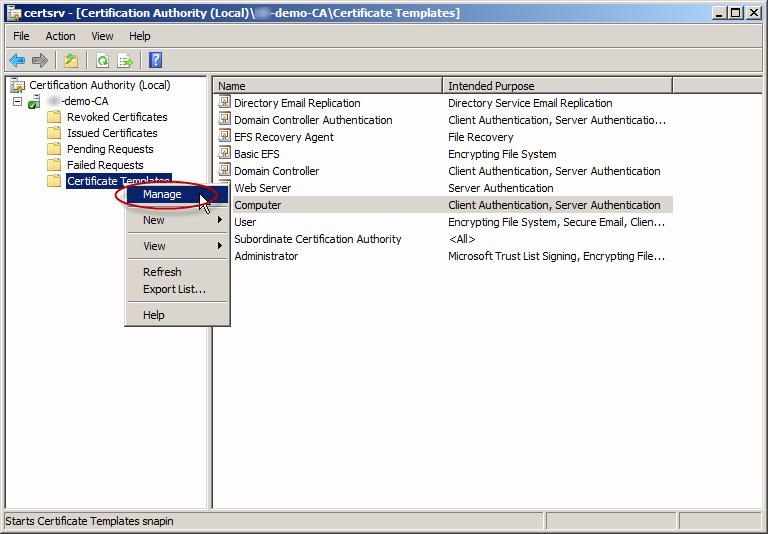 Server Authentication Certificate Template Beautiful Enable Secure Ldap On Windows Server 2008 2012 Dcs