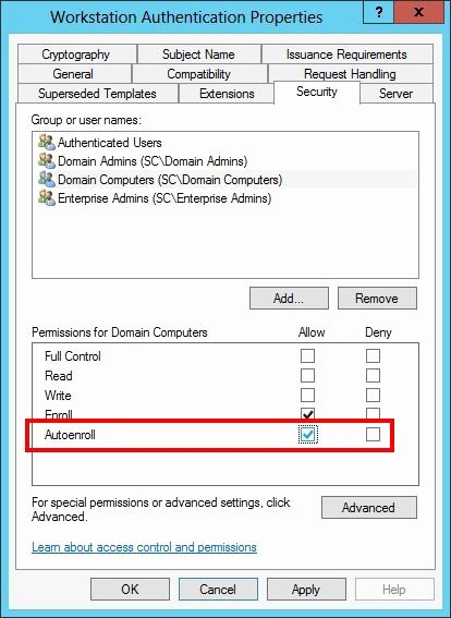Server Authentication Certificate Template Elegant Jtt Consulting [directaccess] Part 4 Authenticating