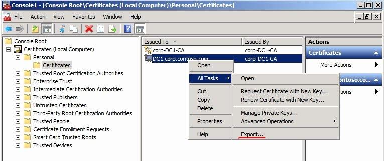 Server Authentication Certificate Template Inspirational Ldap Over Ssl Ldaps Certificate Technet Articles