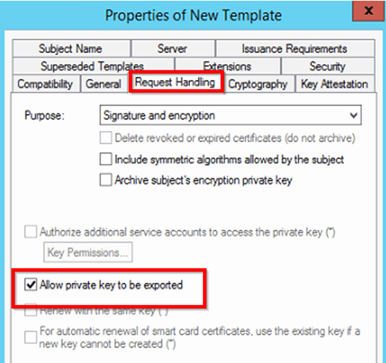 Server Authentication Certificate Template Lovely Create A Certificate Template From A Server 2012 R2 Ca