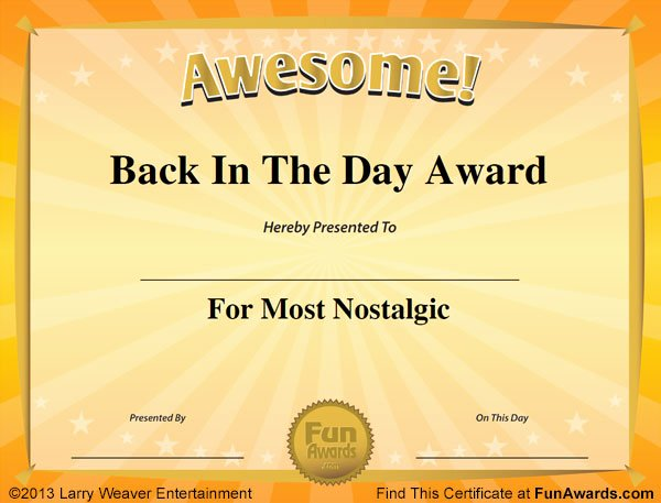 Silly Awards for Kids Best Of Funny Award Certificates 101 Funny Certificates to Give