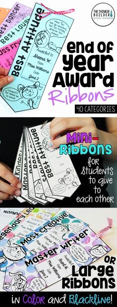 Silly Awards for Kids New Silly Superlatives End Of the Year Activity Kids Could
