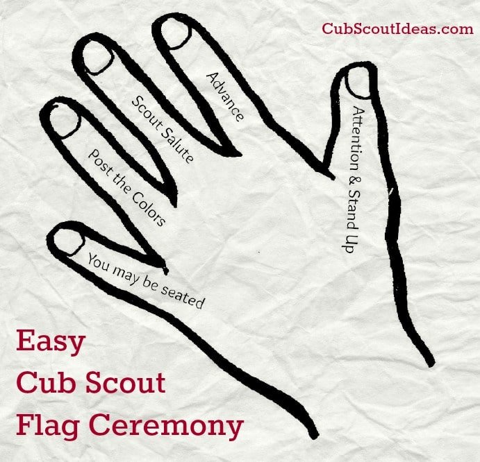 Simple Arrow Of Light Ceremony Ideas Beautiful Easy Cub Scout Flag Ceremony