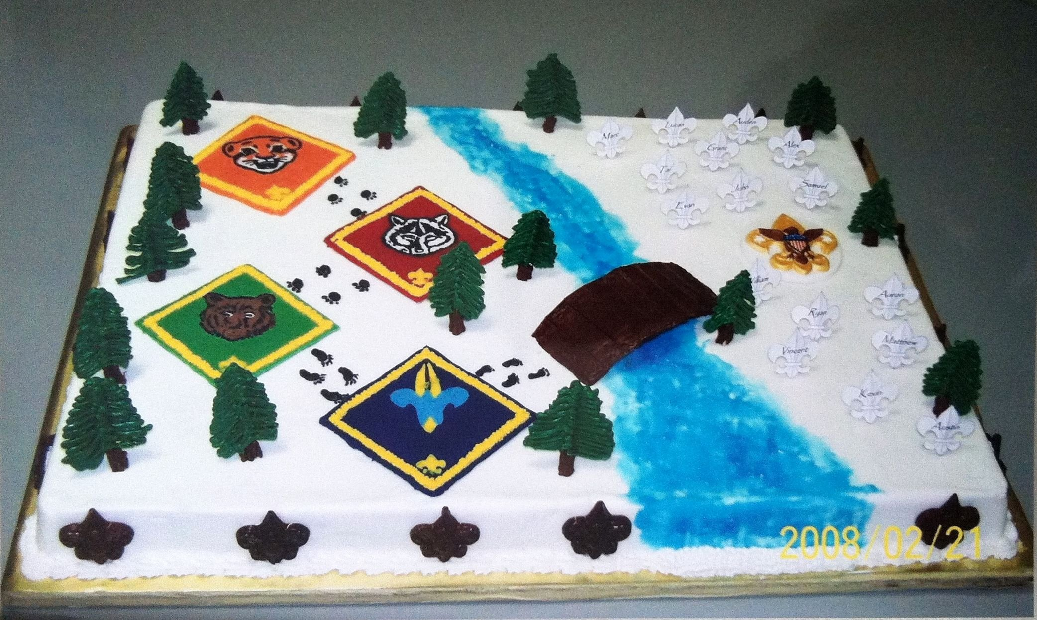 Simple Arrow Of Light Ceremony Ideas Fresh Cub Scout Crossover Cake Kmb Confections