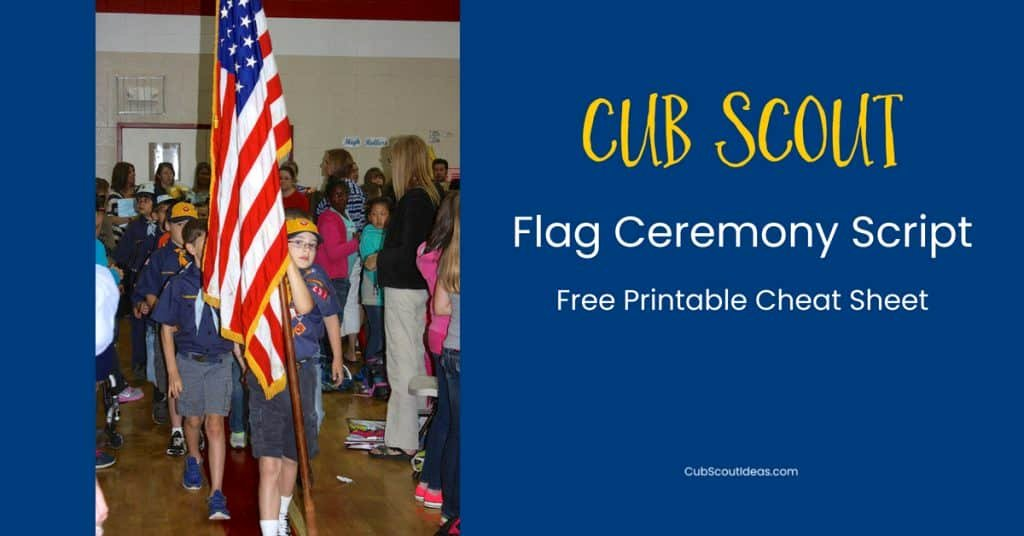 Simple Arrow Of Light Ceremony Ideas Lovely How to Conduct A Cub Scout Flag Ceremony Free Printable