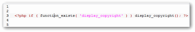 Simple Copyright Statement Elegant Change Copyright Notice In Wordpress Footer In Easy Steps