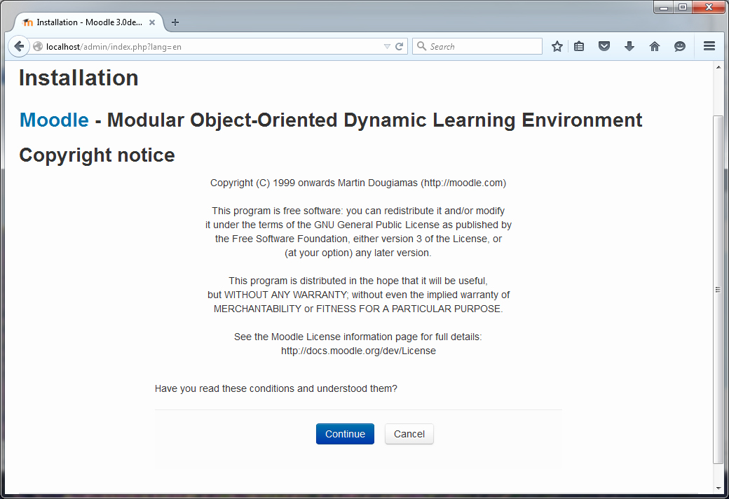 Simple Copyright Statement Inspirational What is Moodle and How to Configure Moodle In Windows