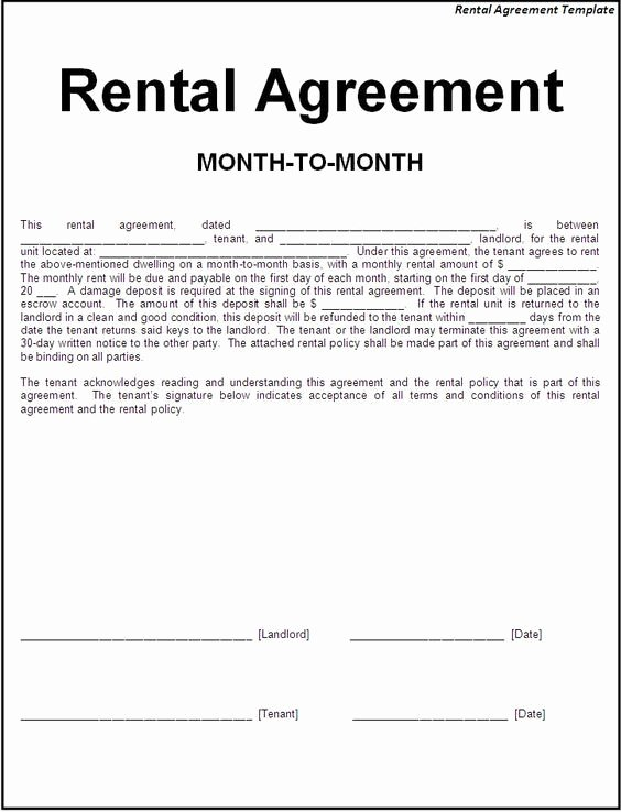 Simple Rent Agreement form Beautiful Printable Sample Simple Room Rental Agreement form