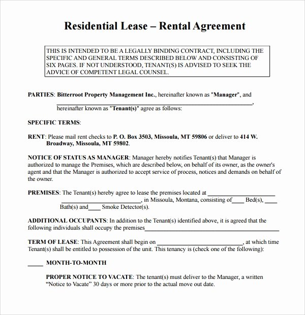 Simple Rent Agreement form Beautiful Simple Rental Agreement 9 Download Free Documents In