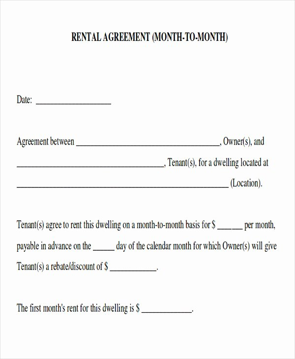 Simple Rent Agreement form Best Of 8 Room Rental Agreement form Sample Examples In Word Pdf