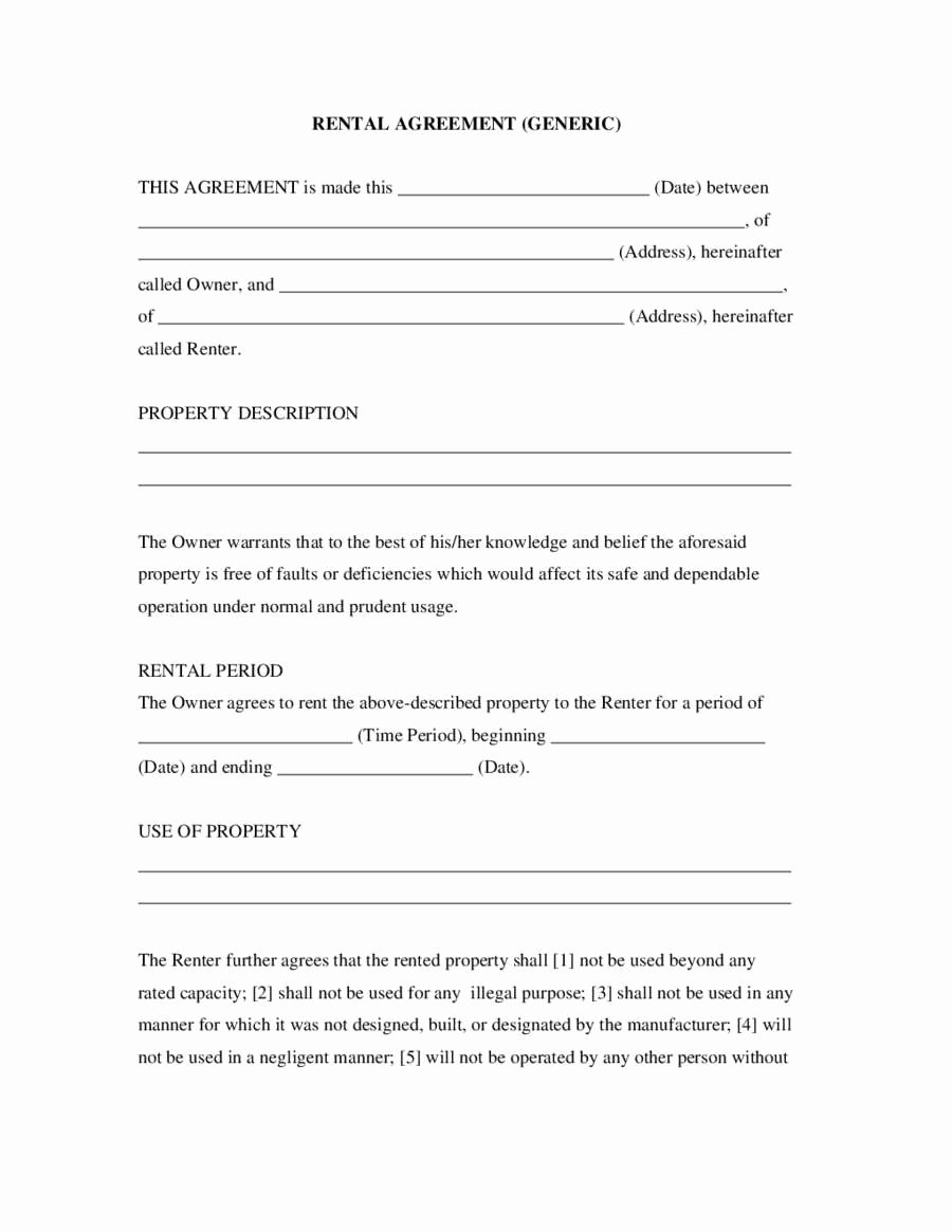 Simple Rent Agreement form Elegant Easy Lease Agreement Last Simple Rent Agreement form Qe