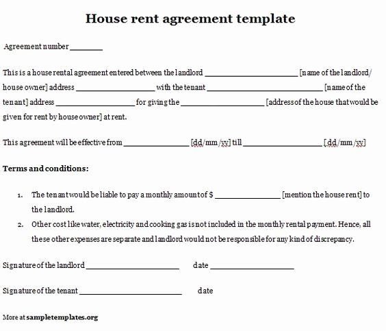 Simple Rent Agreement form New Simple Real Estate forms and Real Estates On Pinterest